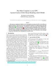 System-Centric CUDA Threat Modeling with CUBAR