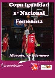 Copa Igualdad 1ª Nacional Femenina - Federación de Baloncesto ...