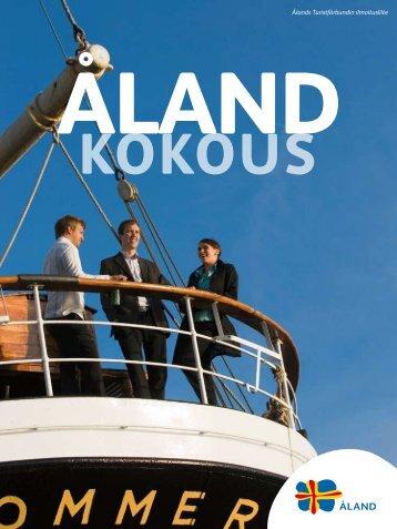 Ålands Turistförbundin ilmoitusliite