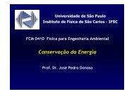 Conservação Energia - IFSC