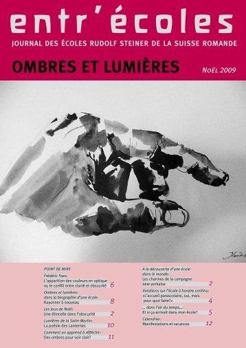OMBRES ET LUMIèRES - publiform.ch