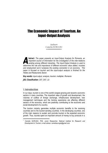 economic impact of pollution article analysis Based on the data analysis, impact and valuation of the damages due to pollution are estimated in section 3 the last section narrates the policy failures and options in correcting the problem the last section narrates the policy failures and options in correcting the problem.