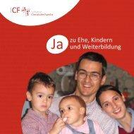 Rechenschaftsbericht 2012 - Initiative Christliche Familie