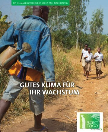 GUTES KLIMA FÜR IHR WACHSTUM - ClimateProjects