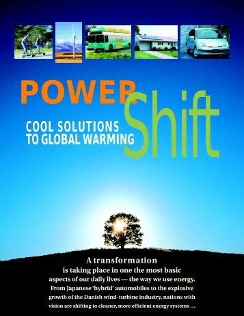 Power Shift: Cool Solutions to Global Warming (PDF) - David Suzuki ...