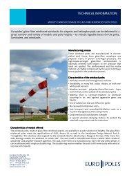 Product information windsocks - Europoles