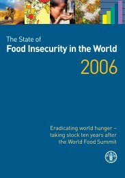 Food Insecurity in the World - FAO.org