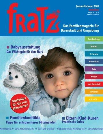 Eltern-Kind-Kuren Babyausstattung Familienkonflikte - Fratz