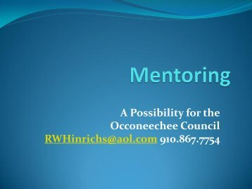 Mentoring - Doubleknot