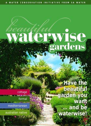 Beautiful Waterwise Gardens - SA Water