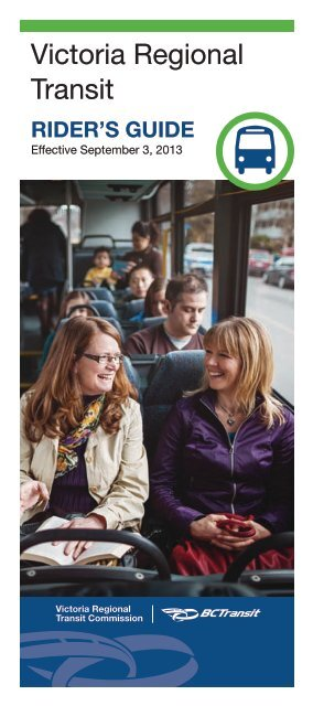 current Rider's Guide - BC Transit