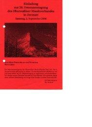 2000 Einladung Veteranentagung in Zermatt - OMV