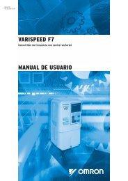 VARISPEED F7 MANUAL DE USUARIO - Carol industrial