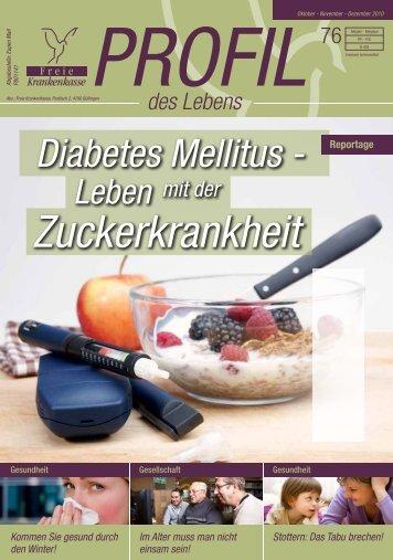 Zuckerkrankheit - Freie Krankenkasse