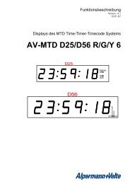 AV-MTD D25/D56 R/G/Y 6 - Alpermann + Velte