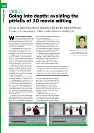 VIDEO: Going into depth: avoiding the pitfalls of 3D movie ... - Ipex