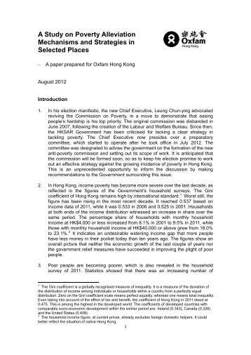 A Study on Poverty Alleviation Mechanisms and Strategies in ...
