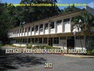 Palestra Chefe 2ª ICFEx - Exército Brasileiro