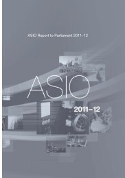 ASIO Report to Parliament 2011–12