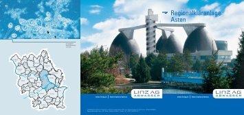Regionalkläranlage Asten - Traun