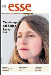 Esse 03/2013 (pdf) - Espoon seurakuntasanomat