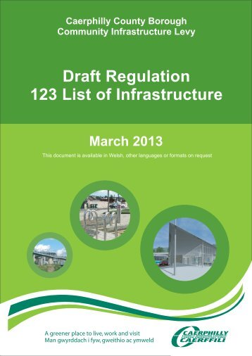 Draft Regulation 123 List of Infrastructure (PDF 379kb)