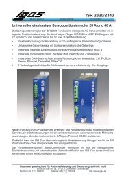ISR 2320/2340 Universeller einphasiger ... - IGAS