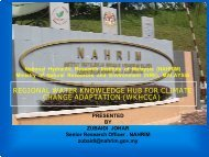 REGIONAL WATER KNOWLEDGE HUB FOR CLIMATE CHANGE ADAPTATION (WKHCCA ...
