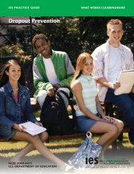 IES Practice Guide - National Dropout Prevention Center for ...