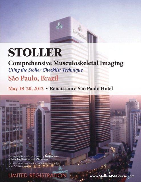Stoller Brazil Brochure (PDF) - ESR - Congress Calendar