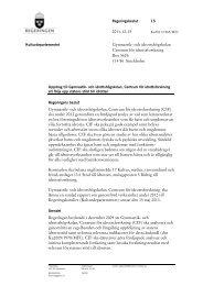 Läs regeringsbeslut angående fördjupningsuppdrag 2012 (pdf ... - GIH