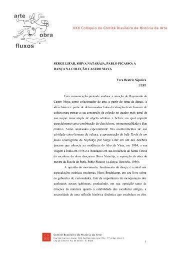 Vera Beatriz Siqueira - CBHA