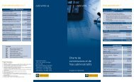 Charte de commissions et de frais administratifs