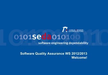 Software Quality Assurance 0 Admin - Software Engineering ...