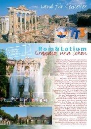 Rom und Latium - TTS Top Tour Service: Gruppenreisen