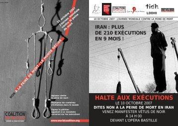 HALTE AUX EXÉCUTIONS - Pen-Kurd