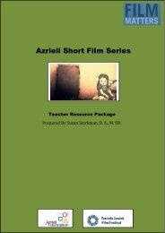 Azrieli Short Film Series Study Guide