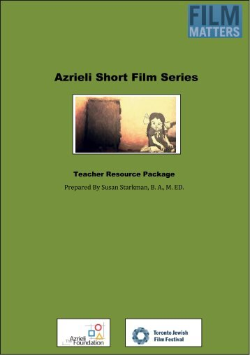 Azrieli Short Film Series Study Guide