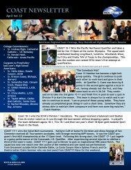 CoastNewsletter4-201.. - Coast Volleyball Club