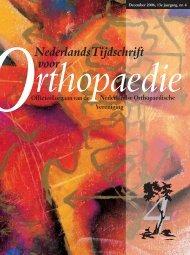 NTvO DEC 2006 [ed_4] - Nederlands Tijdschrift voor Orthopaedie