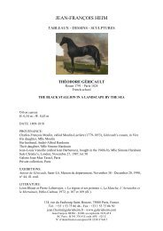Télécharger la fiche PDF - Galerie Jean-François HEIM
