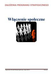 Włączenie społeczne - Województwo Małopolskie