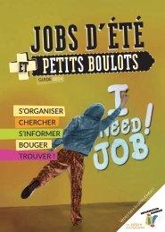 guide Â« En piste pour les petits boulots