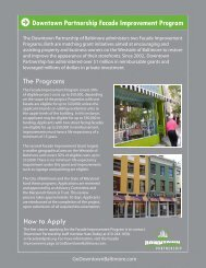 Read More - Downtown Baltimore