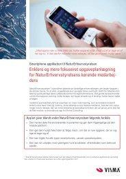 Download referencen om smartphone app'en som PDF fil her - Visma