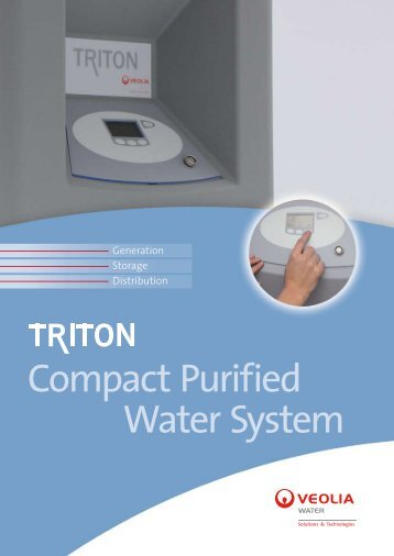 Compact Purified Water System