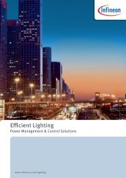Infineon Efficient Lighting Brochure - Avnet