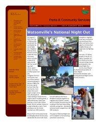 Watsonville's National Night Out - City of Watsonville