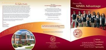 Brochure - St. John Neumann Regional Academy
