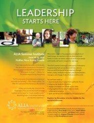 ALIA Summer Institute - ALIA Institute